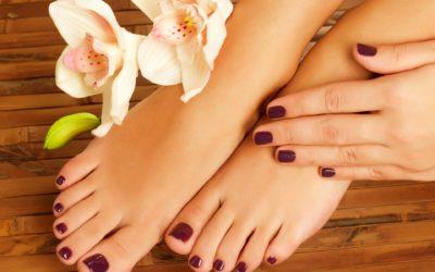 Manicure e pedicure con fresa ad acqua