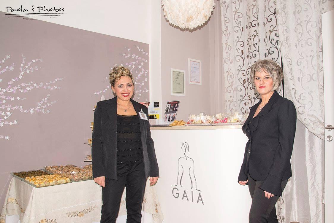 Lorena e Sabrina inaugurazione Gaia