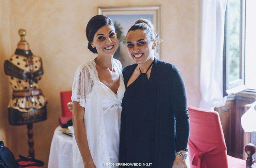 Lorena e Sara - make up sposa